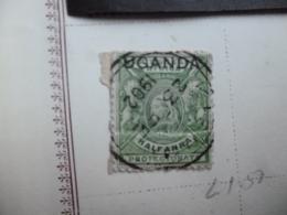 UGANDA  POSTMARK 1902 - Kenya, Uganda & Tanganyika