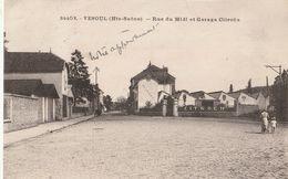 VESOUL  Rue Du Midi Et Garage Citroën - Vesoul