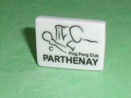 Fèves / Autres / Divers : Parthenay , Ping Pong Club , Perso   TB4E - Otros
