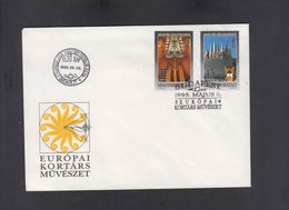 HUNGARY, FDC, EUROPA ** - Europa-CEPT