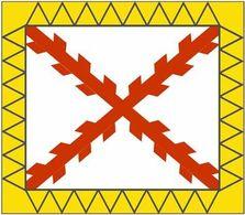 Bandera Infantería Tercios Españoles. Desde 1535. España. Ejército Español - Bandiere