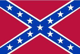 Bandera Confederación. Naval Estados Confederados De América. El Sur. CSA. Guerra Civil Americana. 1861-1865 - Bandiere