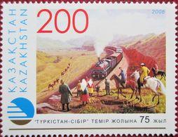 Kazakhstan 2006  Turksib  Railway 1 V. MNH - Kazajstán