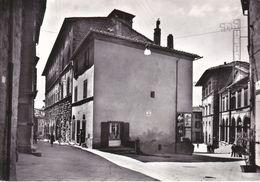 CORTONA - AREZZO - LARGO CROCE DEL TRAVAGLIO - VECCHI MANIFESTI PUBBLICITARI - 1961 - Arezzo