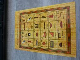 THE HIEROGLYPHIC ALPHABET - EGYPTE - - Egypt
