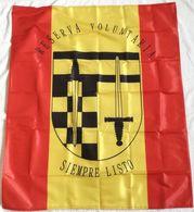 Bandera Reserva Voluntaria, Reservista, De Mochila. Ejército Español. España - Bandiere