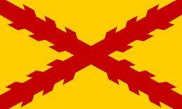 Bandera Tercios Españoles. Morados Viejos. Sevilla. Desde 1670. España. Ejército Español - Bandiere