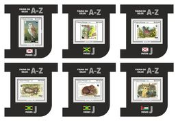 S. TOME & PRINCIPE 2020 - WWF On Stamps J - YT BF1379-84, CV=54 € [ST200315b] - Oddities On Stamps