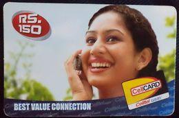 SRI LANKA - Celltel CellCARD  RS 150, [USED] - Sri Lanka (Ceylon)