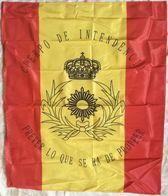 Bandera Cuerpo De Intendencia, De Mochila. Ejército Español. España - Bandiere