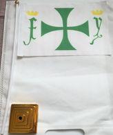 Banderín Bandera Reyes Católicos. Isabel La Católica Y Fernando. RR.CC. España. 1479-1504 - Bandiere