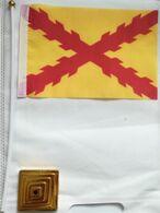 Banderín Bandera Tercios Españoles. Morados Viejos. Sevilla. Desde 1670 - Bandiere