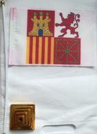 Banderín Bandera De Proa. Torrotito. Castilla, León, Aragón Y Navarra. España. Desde 1945 - Bandiere