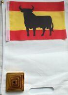 Banderín Bandera Toro De Osborne. España. Fabricación Actual. De Sobremesa - Bandiere