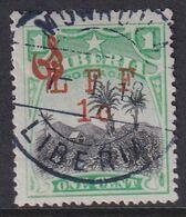 Liberia 1916 Ovpt Official Sc M6 Used - Liberia