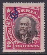 Liberia 1916 Ovpt Official Sc M7 Mint Hinged - Liberia