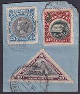 Liberia 1915 Ovpt Official Piece - Liberia