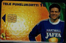 FINLAND 1997 PHONECARD JUDAICA JAFFA USED VF!! - Israele