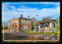 28  ST  REMY  Sur  AVRE  ... La  Gare - Otros Municipios