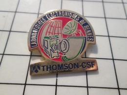 216c Pin's Pins / Beau Et Rare / THEME : MARQUES / THOMSON CSF LABORATOIRE ELECTRONIQUE DE RENNES - Merken
