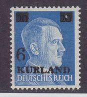 Dt.Bes.2.WK Kurland MiNr. 3vz ** - Occupation 1938-45