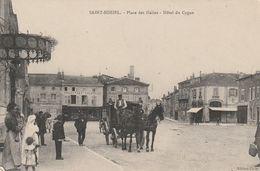 SAINT MIHIEL  Place Des Halles Hotel Du Cygne - Saint Mihiel