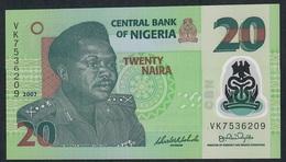 NIGERIA P34b 20 NAIRA 2007 #VK UNC. - Nigeria