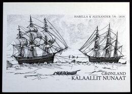 Greenland  Cards, Expedition In Greenland,Ross / Sakæus 2    ( Lot 270 ) - Groenlandia