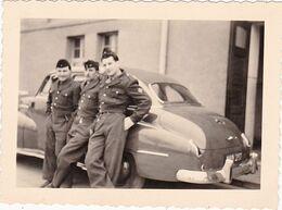 Photo Originale  : Automobile : Militaire - Militaria : Voiture Du Commandant : AUDI ?? - Optiker - JUNKERS - KOBLENZ - Auto's