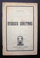 Lithuanian Book / Ryškusis Skaitymas 1928 - Libros, Revistas, Cómics
