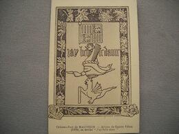 1888 Carte Postale   MAUVEZIN    Château Fort   Armes De Gaston FEBUS    65 Hautes Pyrénées - France