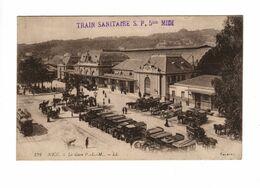 NICE (06) - La Gare P.L.M. (Train Sanitaire S.P. 5 Bis Midi) - Nice