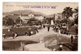 NICE (06) - Jardin Des Palmiers Et Casino Municipal (Train Sanitaire S.P. 5 Bis Midi) - Other