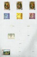 Liechtenstein N°1216 à 1221 Cote 10.75 Euros (1224, 1227 Offerts) - Gebraucht