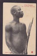CPA Tatouage Afrique Noire Congo Circulé - Congo Francés - Otros