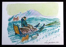 Greenland  Cards, Artwork:Miki Jacobsen  ( Lot 270 ) - Groenlandia