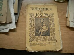 Glaskik Sv Josipa  1929 List Za Hrvatsku Katolicku Kucu - Libri, Riviste, Fumetti