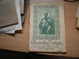 NDH Ustase Glaskik Sv Josipa  1942 List Za Hrvatsku Katolicku Kucu - Libri, Riviste, Fumetti