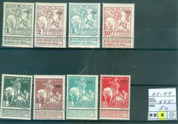 92-99 X  Côte  455€ - 1910-1911 Caritas