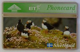 UK - Great Britain - BT - Landis & Gyr - BTG215 - Shetland Islands - Puffins - 310K - Mint - Royaume-Uni