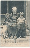 MACEDOINE - Vieux Turc Et Ses Enfants - Griechenland