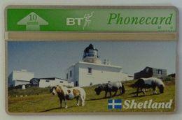 UK - Great Britain - BT - Landis & Gyr - BTG217- Shetland Islands - Ponies - 310K - Mint - Royaume-Uni