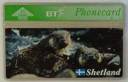 UK - Great Britain - BT - Landis & Gyr - BTG218- Shetland Islands - Otters - 310K - Mint - Royaume-Uni