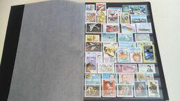 DP081 MONDE LOT FEUILLES NEUFS / OB A TRIER COTE++ DÉPART 10€ - Stamps