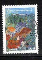 France 2020.Euromed.Gastronomie Traditionnelle Méditérranéenne.cachet Rond Gomme D'Origine - Frankreich