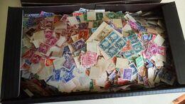DP083 CARTON 1 KG TIMBRES FRANCE PETITS FORMATS TOUTES ÉPOQUES A TRIER COTE++ DÉPART 10€ - Lots & Kiloware (min. 1000 Stück)
