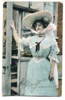 UNITED KINGDOM - Actress Marie Studholme -  Buenos Aires Argentina Postmark 1903 - Teatro