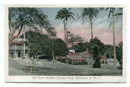 BARBADOS - The Fern House, Queens Park - VG Animation Etc - Barbados (Barbuda)