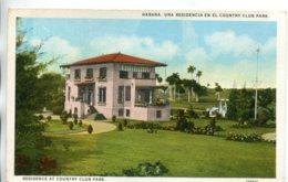 CUBA - Residence At Country Club Park Habana - Kuba