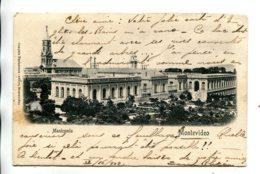 URUQUAY - Manicomio MONTEVIDEO VG Postmarks - Undivided Rear Etc - Paraguay